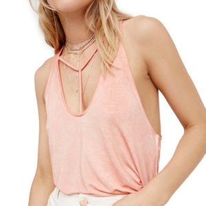 """Free People """"Amelia"""" Tank Top Large New with tags"""